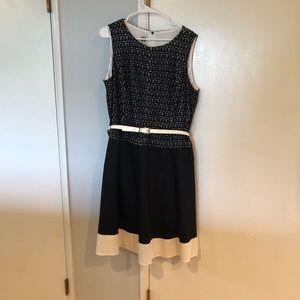 Anne Klein Sleeveless Midi Dress